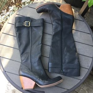 Korks by Kork-Ease Leather Knee High Boots